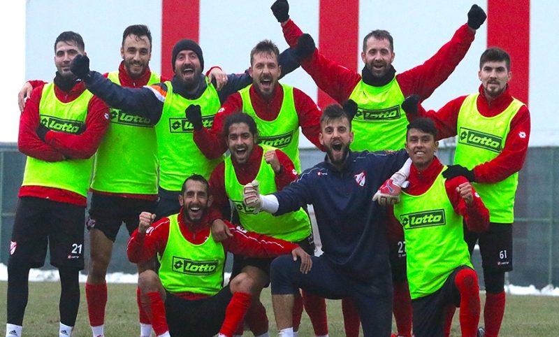 Boluspor'da Erzurumspor maçı hazırlıkları